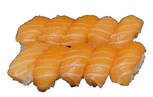 Box Sushi Saumon - 10 pièces.