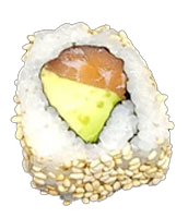 California Saumon Avocat - Daiya Sushi