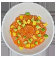 chirachi saumon avocat mangue