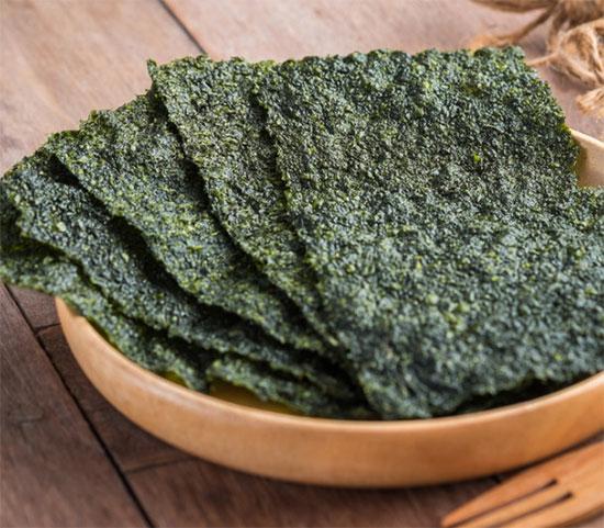 feuilles d'algue