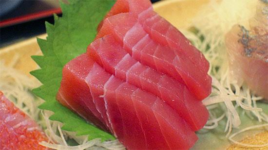 thon sashimi